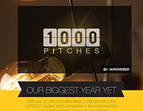 Infographic for 1,000 Pitches