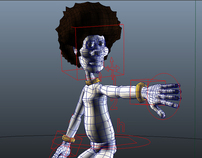 Mr. O rigging - Maya