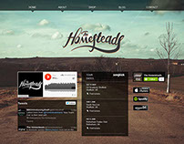 The Homesteads Band - Responsive Website