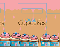House Of Cupcakes Package Design