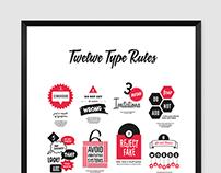 Twelve Type Rules