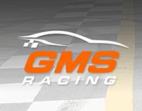 GMS Racing - Responsive website design mockup