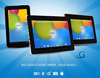 Campagne publicitaire YOOZ MyPAD 3G