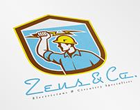 Zeus and Company Electricians Logo