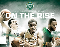 2014 Colorado State Rams Posters & Schedule Cards