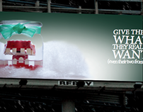 Lego's: Billboard Christmas Advertisements