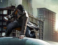 Watch_Dogs : Web Takeover Keyart