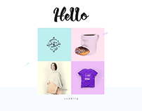 Color style 2018 template