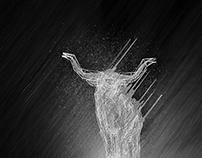 G-Man Longhorn Bull Illustration