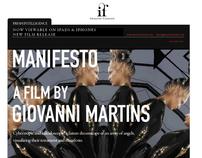 Manifesto fashion film
