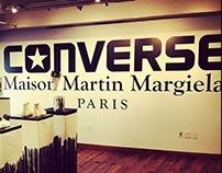 Converse x Maison Martin Margiela Install 2013