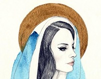 Sacred Heart of Lana Del Rey