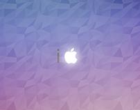 i apple background