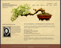Web Design & Development: Center for Physician Renewal