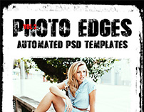 Cool Photo Edges Automated PSD Templates Vol 2