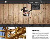 Chappé Leclère   Web design