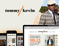Tommy & Kevin Website Design
