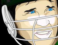Cricket World Cup Illustrations