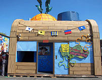 Spongebob Squarepants Booth