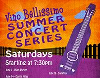 Vino Bellissimo Concert Series