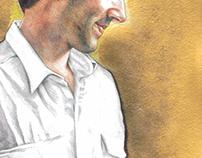 Ballpoint portrait #2