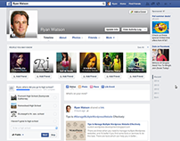 Facebook User Interface Changes With Time
