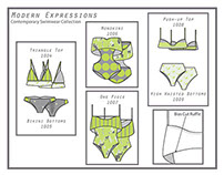 Modern Expressions: Swimwear and Textile Collection