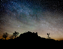Mojave Moonlight, A Series of Nightscapes