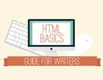 Basic HTML Guide for Writers | Text Graphic