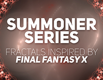 SUMMONER - Fractals Inspired by Final Fantasy X
