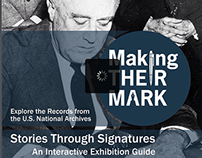 """Making Their Mark"" Exhibition eBook, National Archives"