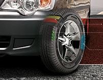 Barez Tires Print Ads