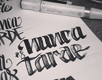 Calligraphy & Lettering - Sketches Collection