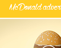 McDonald Website Concept