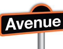 Signage | Avenue Q
