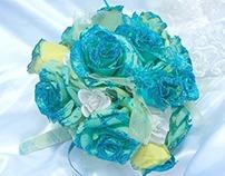 Sea Mist Bridal Bouquet