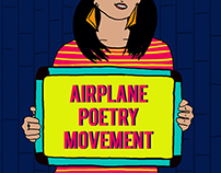 Airplane Poetry Movement-Posters