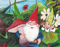 "Illustration for ""the feast of the gnomes"""