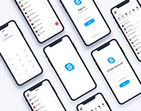 Skype App Redesign