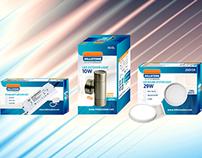 Hillstone LED Lighting Packaging Design