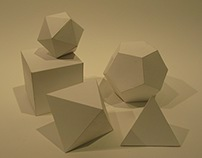 Platonic Solids and Invented Shapes