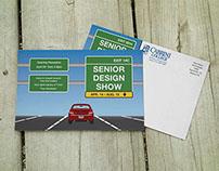 Senior Show Postcard