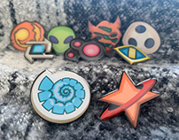 KeyForge Pins: Saurian & Star Alliance
