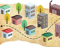 Mapa urbano