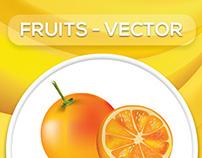 Fruits-Vectors