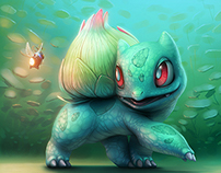 Bulbasaur - illustration(s)