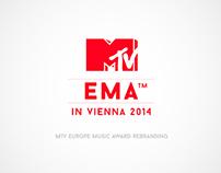 MTV EMA Rebranding