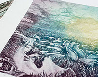 Solar Plate Prints