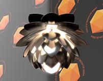 Silvia Pendant Lamp Free 3D Model