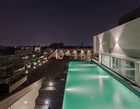 | Ajay Enclave Residence by Anagram Architects